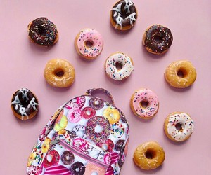 colour, dolci, and donuts image