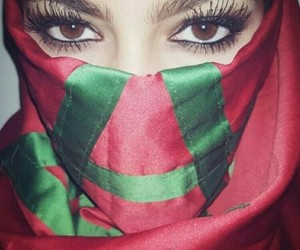 arab, eyes, and morocco image