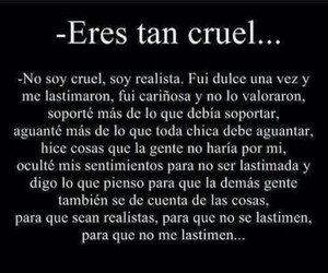 frases and cruel image