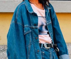 fashion, 90s, and jacket image