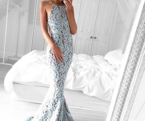 blue, body, and dress image