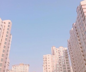 aesthetic, building, and sky image