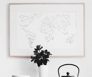 map, minimal, and minimalism image