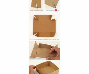 box, diy, and Easy image