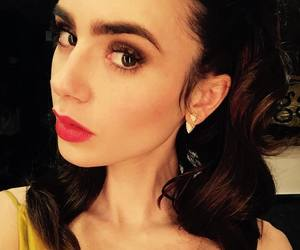 fashion, makeup, and lily collins image