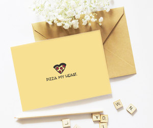 etsy, pizza, and valentines day image