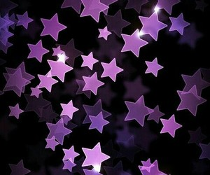 purple, star, and wallpaper image