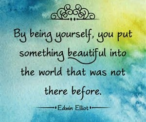 quotes, beautiful, and be yourself image