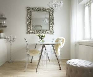 decor, decoration, and dining room image
