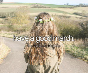 march and bucket list image