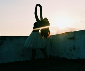ballet, girl, and light image