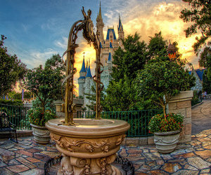 castle, colorful, and disney image