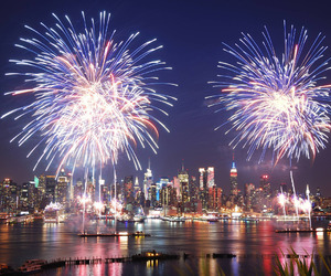 fireworks, beautiful, and new york image