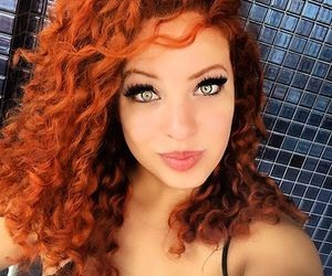 amazing, curls, and ginger image