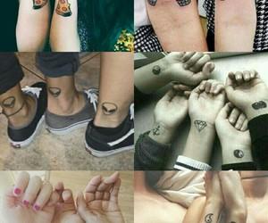tatoo, friendzone, and love image