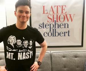 chris colfer and criss colfer image