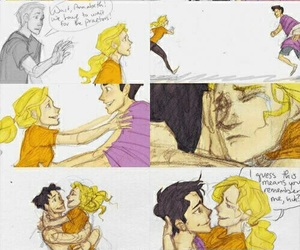 percabeth, percy jackson, and annabeth chase image