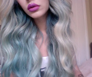 hair, pale, and grunge image