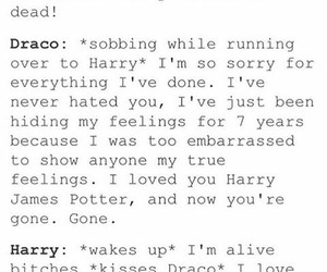 draco malfoy, harry potter, and voldemort image