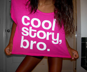 pink, cool, and cool story bro image