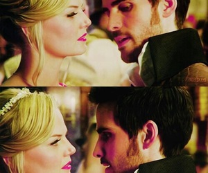 once upon a time, love, and hook image