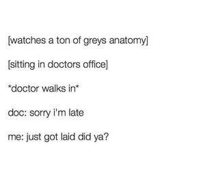 dead, grey's anatomy, and funny image