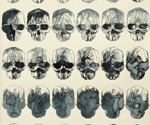 skull, art, and style image