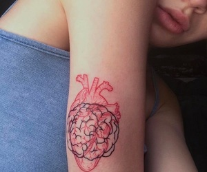 tattoo, heart, and bea miller image