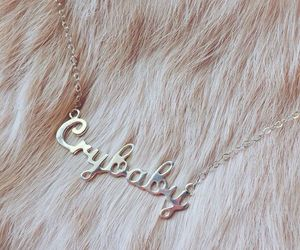 cry baby, jewelry, and necklace image