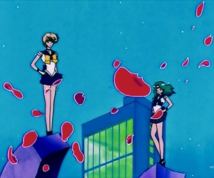 anime, couple, and sailor moon image