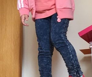 adidas, baby pink, and daughter image