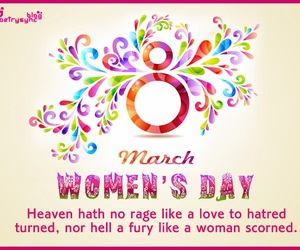 quotes, march, and women image