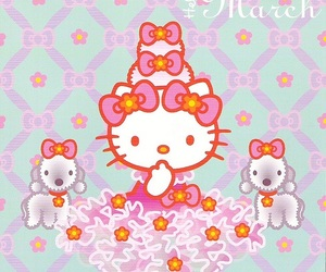 hello kitty and march image