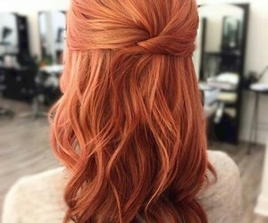 red and hair image