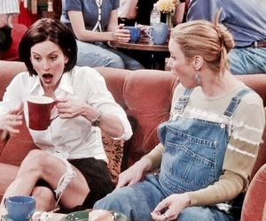 90s, funny, and monica geller image