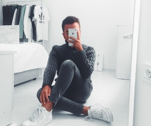 fashion, grey, and ikea image