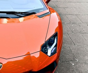 car and orange image