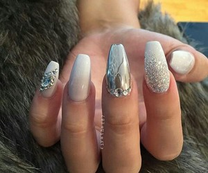 nails, glam, and ideas image