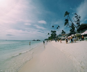 asia, beach, and boracay image
