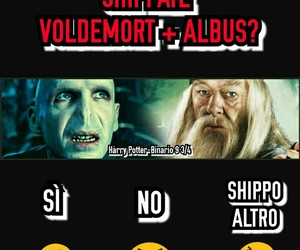 harry potter, albus silente, and lord voldemort image