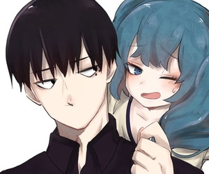 anime couples, tokyo ghoul, and kuki urie image