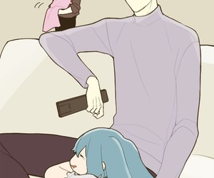 anime couples, tokyo ghoul, and sasaki haise image