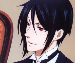 background, black butler, and kuroshitsuji image