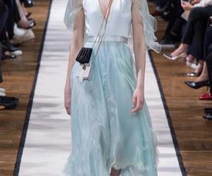 fashion, Lanvin, and white dress image