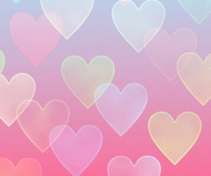 background, corações, and heart image