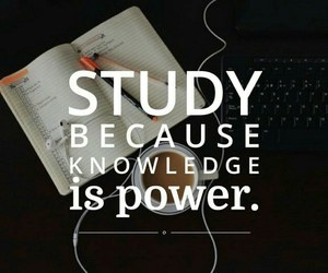study, power, and knowledge image