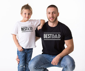 etsy, best dad, and father son tshirts image