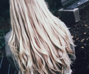 blonde, curls, and hairinspo image