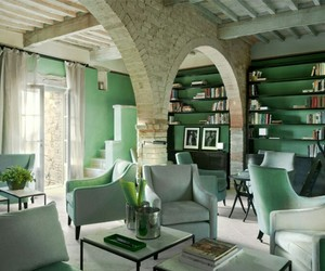 interior design, mint, and mint green image