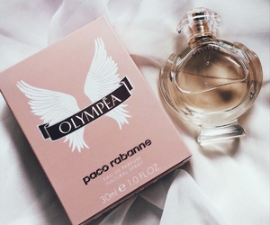 gold, perfume, and pacorabanne image